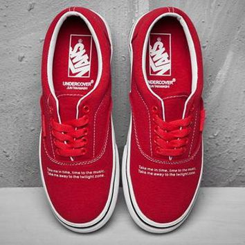 Vans x Undercover Old Skool Canvas Flat Ankle Boots Sneakers Sport Shoes