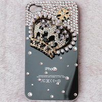 unique iphone 4 cases Crown Iphone case iPhone 4S Case Crystal Iphone Case iphone cases iphone 5 case iPhone 5 cover crown iphone 5 case