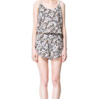 JUMPSUIT WITH CONTRASTING BACK - Woman - New this week - ZARA United States