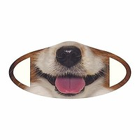 Dog Fabric Face Mask (Pre-Order)