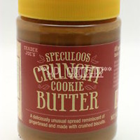 Trader Joes Speculoos Crunchy Cookie Butter Spread Plastic-Sealed NEW Choose Qty