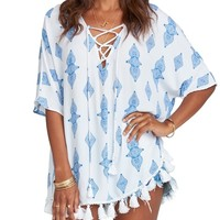Tennessee Tassel Tunic Top