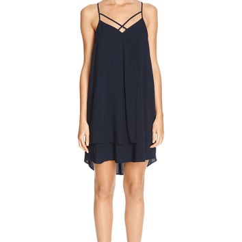 MIDNIGHT Double Layer Cami Dress