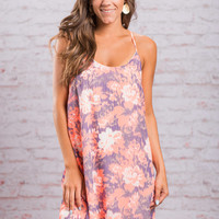 It Was Made For Me Dress, Neon Coral