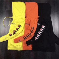 Champion Classic Casual Print Top Sweater Hoodie