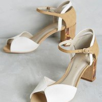 Guilhermina Paimpont Heels in White Size:
