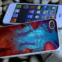 Alice in Wonderland iPhone 4 4S iPhone 5 5S 5C and Samsung Galaxy S3 S4 Case
