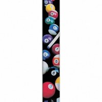LM Products RM24P 3-Inch Ralph Marlin Designer Pool Balls Electric Guitar Strap
