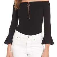 Willow & Clay Off the Shoulder Bodysuit | Nordstrom