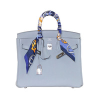 Hermes Glacier Blue Togo 25 cm Birkin Bag- New Color