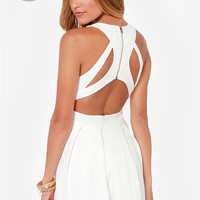 LULUS Exclusive Test Drive Ivory Dress