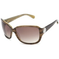 Marc by Marc Jacobs Women`s MMJ 021/S Rectangular Sunglasses,Olive Tortoise Frame/Brown Gradient Lens,one size