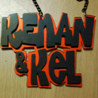 Kenan and Kel necklace by VonTrashJewellery on Etsy