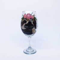 Sloth wine glass - 21 oz
