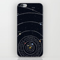 Solar system iPhone & iPod Skin by James White