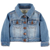 Baby Boy OshKosh B'gosh® Knit Denim Jacket | null