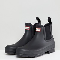 Hunter Original Chelsea Boots In Black at asos.com
