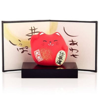 Cute Japanese Lucky Cats. Lucky Charm In Japanese Culture