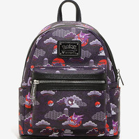 Loungefly Pokémon Ghost Type Print Mini Backpack - BoxLunch Exclusive