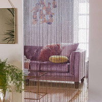 Ombre Bamboo Beaded Curtain | Urban Outfitters