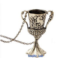 Hufflepuff Horcrux Necklace Harry Potter Cup