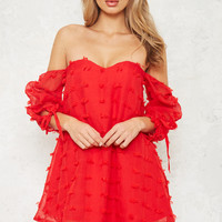 Chilli Jam Dress Red