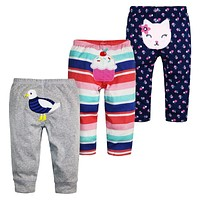 2017 Special Offer Baby Pants Unisex Kids Harem PP Trousers Knitted Cotton Boys Girls Toddler Leggings Newborn Infant Clothing