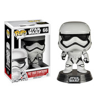 First Order Stormtrooper Pop Star Wars Force Awakens Vinyl Figure