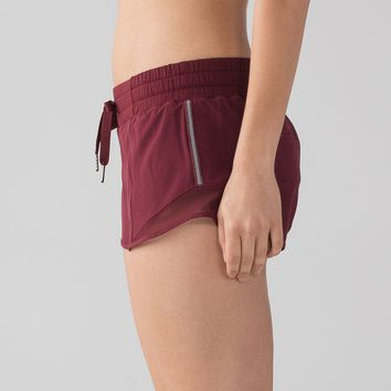 "Lululemon Hotty Hot Short (2 1/2"" ) - Deep Rouge - lulu fanatics"