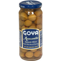 Goya Manzanilla Spanish Olives, 6.75 oz