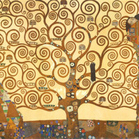 The Tree of Life, Stoclet Frieze, c.1909 Print by Gustav Klimt at Art.com