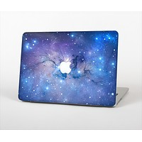 The Blue & Purple Mixed Universe Skin Set for the Apple MacBook Air 13""