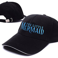 XINMEN The Little Mermaid A Broadway Logo Adjustable Baseball Caps Unisex Snapback Embroidery Hats