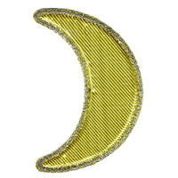 Gold Moon Puffy Patch