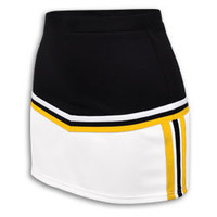 Tri-Color Strike Cheerleading Uniform Skirt - Part of Chasse's New Sideline Collection
