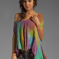 Jen's Pirate Booty Cape Town Top in Flashback Bright Tie Dye from REVOLVEclothing.com