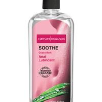 Soothe Organic Anti-Bacterial Anal Lubricant - 8 oz