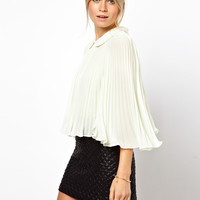 ASOS | ASOS Swing Blouse With All Over Concertina Pleats at ASOS