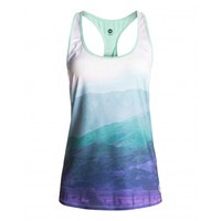 ROXY CUTBACK TANK MISTY MOUNTAINS WOMENS CLOTHING JRS SURF AND SKI ONLINE