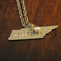 """""""State Love"""" necklace - Tennessee"""