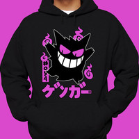 SHINY GENGAR Pokemon Hoodie Pokemon Sweatshirt