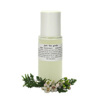 Vegan Deodorant in Refillable Glass Roll-On - No Propylene Glycol, Parabens, Artificial Fragrance - 50 ml