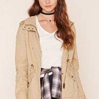 Button-Front Utility Jacket