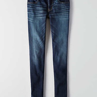 AEO Denim X Super Low Jegging, Sapphire Burst