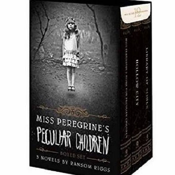Miss Peregrine's Peculiar Children Boxed Set Hardcover by Ransom Riggs