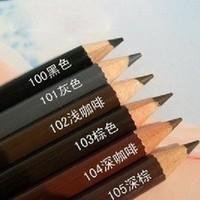 New brand 1PC WATERPROOF eyebrow pencil makeup 6 style paint for eyebrows to eye cosmetics brow eye liner tools eye brow pencil
