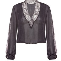 Kaitlyn Lace Blouse by Alice & Olivia