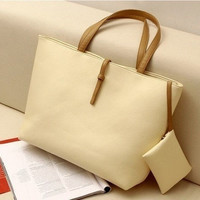 Women's Classic Hobo PU leather Shoulder Bag Ladies Tote Bag Handbag New Fashion = 1932924292