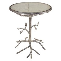 Mirror Branch Side Table