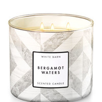BERGAMOT WATERS3-Wick Candle